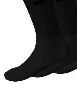 Pack de 3 calcetines Sport negro