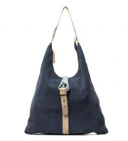 Bolso Enif azul -30x36x10cm-