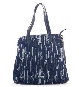 Bolso Adhara azul -41x32x10cm-