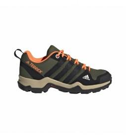 Zapatillas Outdoor AX2R Kids kaki
