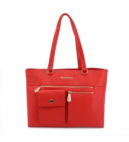 Bolso de mano Casper-VBS3XL01 rojo -35 x 28,5 x 14cm-