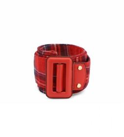 Cinturón Alien-VCS2DO56T rojo -ancho: 6 cm-