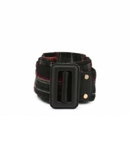 Cinturón Alien-VCS2DO56T negro -ancho: 6 cm-