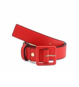 Cinturón Angelo-VCS3XH57 rojo -ancho: 3,5 cm-
