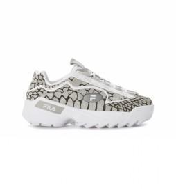 Zapatillas D-Formation R gris -altura plataforma: 5cm-