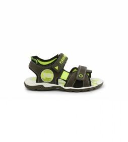 Sandalias 6015-030 verde