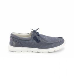 Zapatos cordones LENDL8164S1 azul