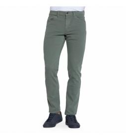 Pantalón tipo vaquero 700_9302A  verde