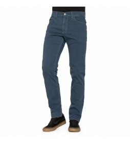 Pantalón tipo vaquero 700-942A azul