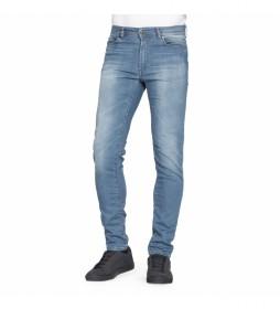 Pantalón vaquero T707M_0900A azul