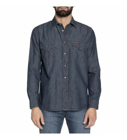 Camisa vaquera 205-1005A marino