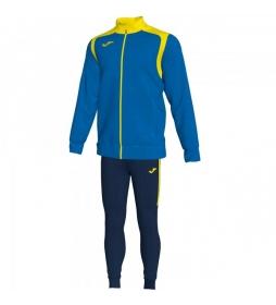 Chándal Champion V azul, amarillo
