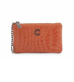 Cartera Braid CB4198 naranja -16,5x9,5x2-