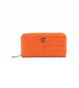 Cartera Braid CB4191 naranja -20x10,5x2,5cm-