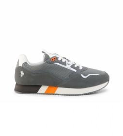 Zapatillas  LEWIS4143S1 gris