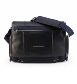 Bolso de hombro CA1592LK2 marino -46x31x12cm-