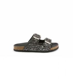 Sandalias 026798-GLITTER negro