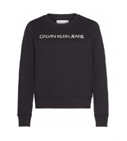 Sudadera con logo CK Jeans negro