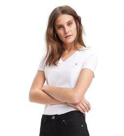 Camiseta Heritage V-Neck blanco