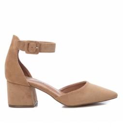 Zapatos 072865  taupe -altura tacón 6cm-