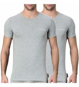 Pack de 2 Camisetas VBKT04086 gris