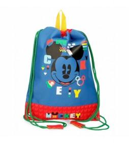Bolsa de Merienda Mickey Shape Shifter azul -27x34cm-
