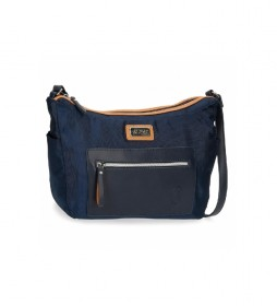 Bolso de Hombro 5145323 marino -32x25x11cm-