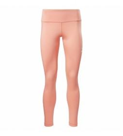 Leggings Linear Logo rosa
