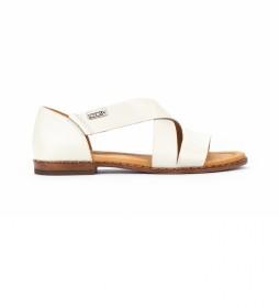 Sandalias de piel Algar W0X blanco