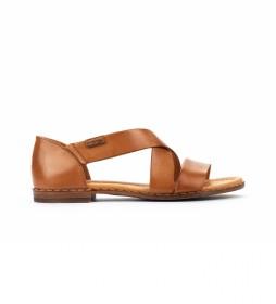 Sandalias de piel Algar W0X marrón