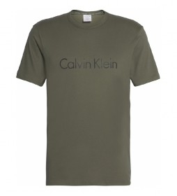Camiseta Crew Neck  caqui