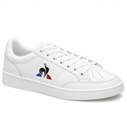 Zapatillas de piel Court Net Sport blanco