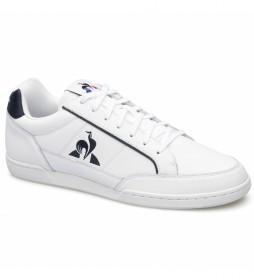Zapatillas de piel Tournament blanco, azul