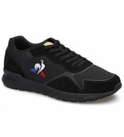 Zapatillas de piel Omega Y negro