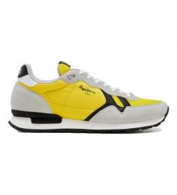 Zapatillas Britt Man Basic amarillo