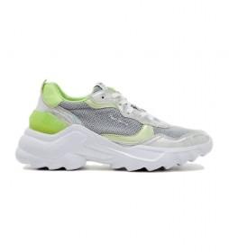 Zapatillas Eccles top gris, verde
