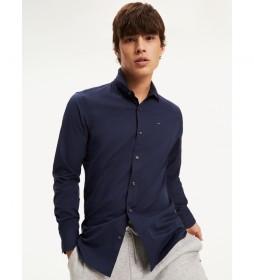 Camisa Popelín Original Stretch marino