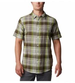 Camisa Under Exposure a cuadros verde