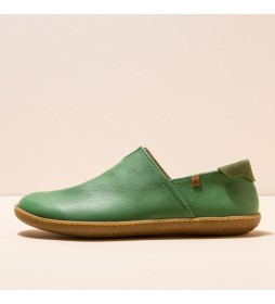Zapatos de piel N275 Natural El Viajero verde