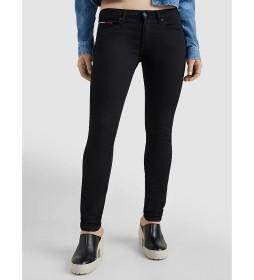Pantalones Sophie LR Skny Stbks negro