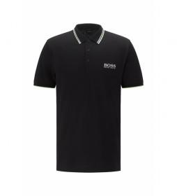 Polo Regular Fit Paddy Pro negro
