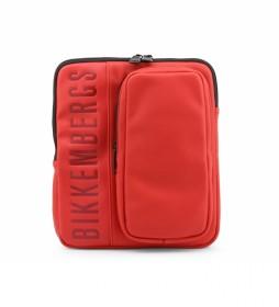 Bandolera  E91PME560022 rojo 23x27x5cm