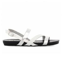 Sandalias de piel Rosendale blanco
