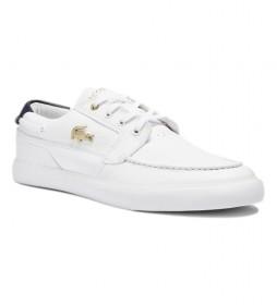 Zapatillas de piel Bayliss Deck 0721 1 CMA blanco