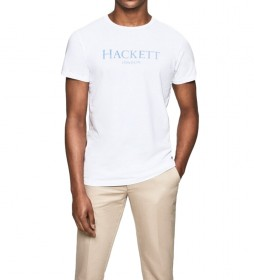 Camiseta con logo London blanco