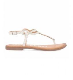 Sandalias de piel Fyffe  blanco