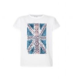 Camiseta Peggy blanco
