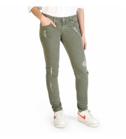 Jeans 777-9302A verde