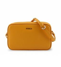 Bandolera de piel LILLI_EK27LIL orange -20x12.5x6.5cm-