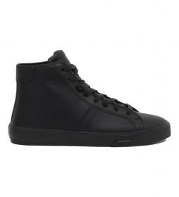 Zapatillas de piel S-Mydori MC negro